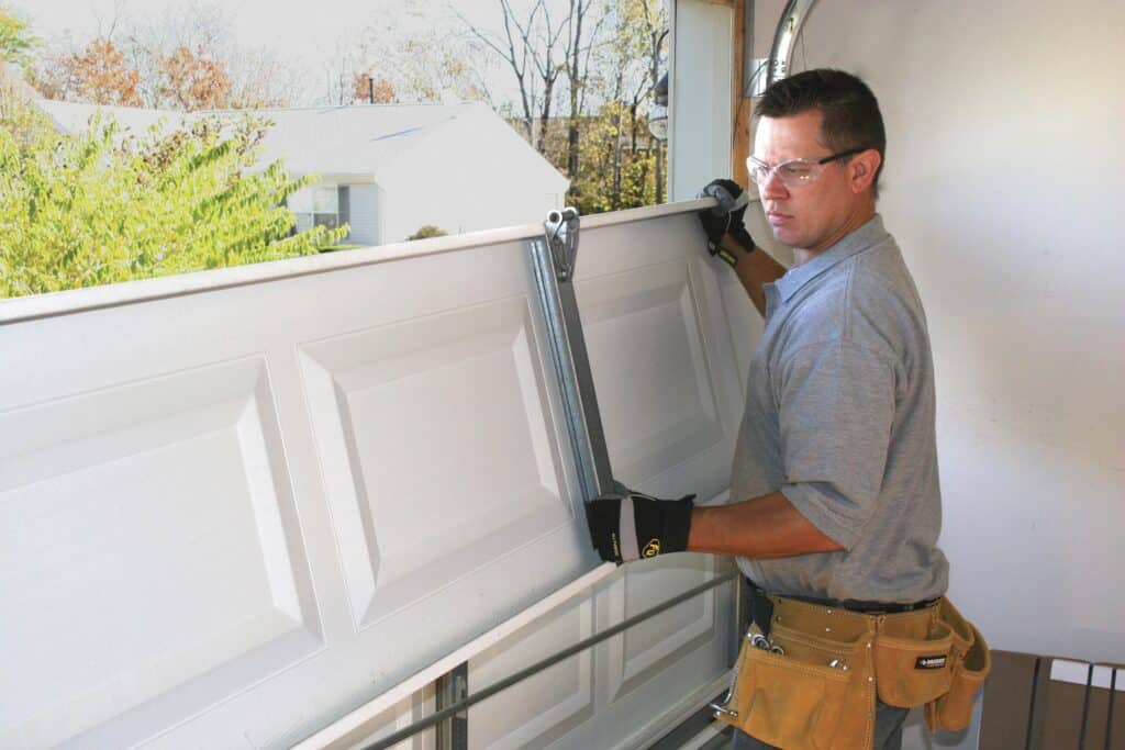 custom garage door installation
