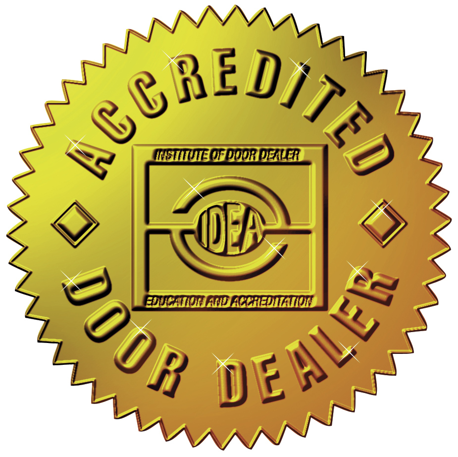 Colorado springs service awards american overhead door for Idea accredited door dealer