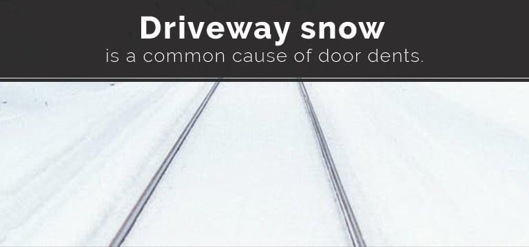 Snow-Garage-Door-Dents