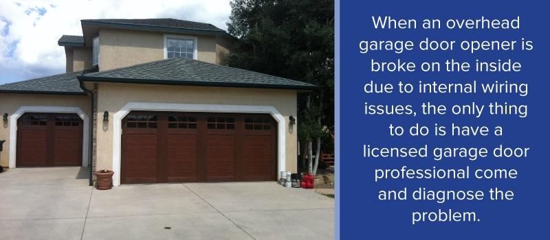 Garage Door Opener Problems American Overhead Door