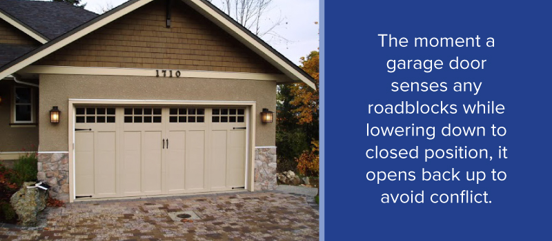 If The Garage Door Repeats Same Problem And Fails To Fully Shut Without Reversing Contact A Service Professional Diagnose Fix