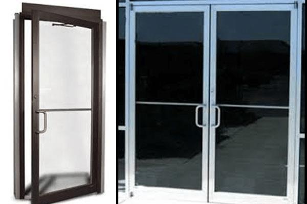 Glass Amp Aluminum Storefront Doors American Overhead Door